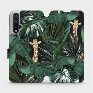 Flip pouzdro Mobiwear na mobil Honor 20 - VP06P Žirafky