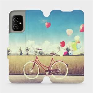 Flip pouzdro Mobiwear na mobil Asus Zenfone 8 - M133P Kolo a balónky