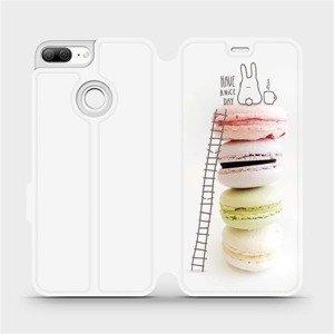 Flipové pouzdro Mobiwear na mobil Honor 9 Lite - M090P Makronky - have a nice day