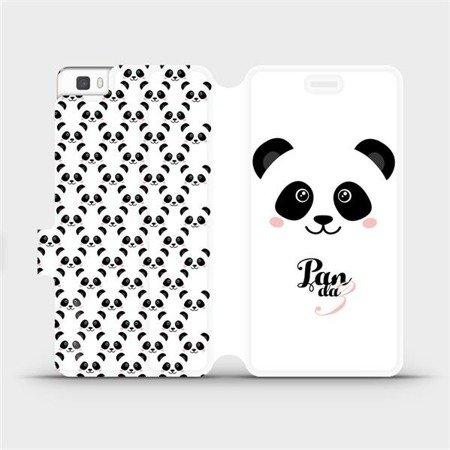 Flipové pouzdro Mobiwear na mobil Huawei P8 Lite - M030P Panda Amálka