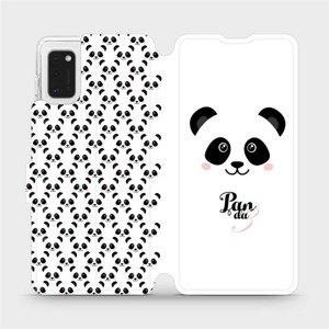 Flipové pouzdro Mobiwear na mobil Samsung Galaxy A41 - M030P Panda Amálka