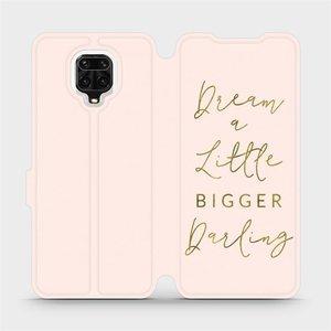 Flipové pouzdro Mobiwear na mobil Xiaomi Redmi Note 9 Pro - M014S Dream a little