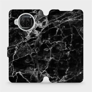Flipové pouzdro Mobiwear na mobil Xiaomi MI 10T Lite - V056P Černý mramor