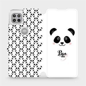Flipové pouzdro Mobiwear na mobil Motorola Moto G 5G - M030P Panda Amálka