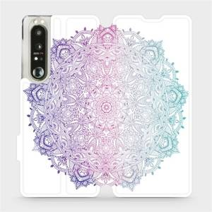 Flip pouzdro Mobiwear na mobil Sony Xperia 1 III - M008S Mandala