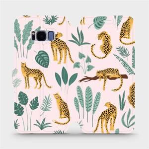 Flip pouzdro Mobiwear na mobil Samsung Galaxy S8 - MP07S Leopardi