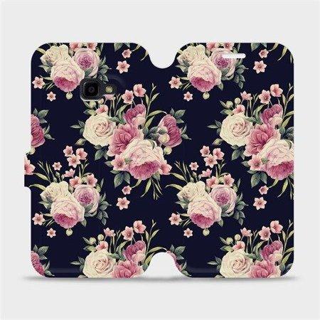 Flipové pouzdro Mobiwear na mobil Samsung Xcover 4 - V068P Růžičky