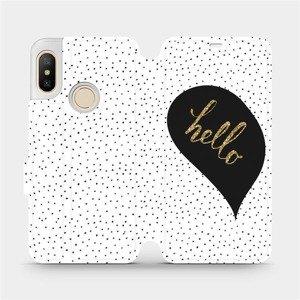 Flipové pouzdro Mobiwear na mobil Xiaomi Mi A2 Lite - M013P Golden hello