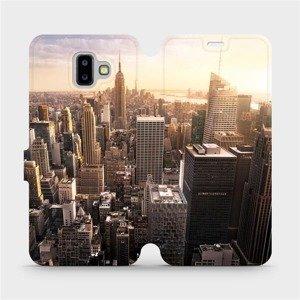Flipové pouzdro Mobiwear na mobil Samsung Galaxy J6 Plus 2018 - M138P New York