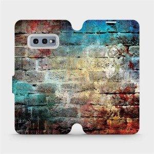 Flipové pouzdro Mobiwear na mobil Samsung Galaxy S10e - V061P Zeď
