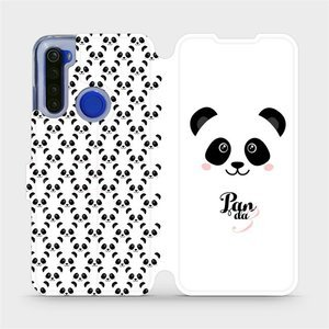 Flipové pouzdro Mobiwear na mobil Xiaomi Redmi Note 8T - M030P Panda Amálka