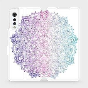 Flipové pouzdro Mobiwear na mobil LG Velvet - M008S Mandala