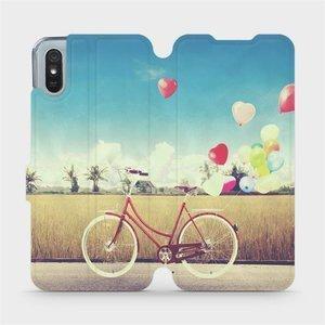 Flipové pouzdro Mobiwear na mobil Xiaomi Redmi 9A - M133P Kolo a balónky