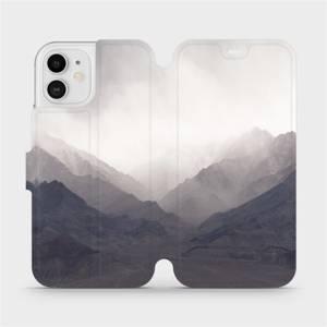 Flipové pouzdro Mobiwear na mobil Apple iPhone 12 - M151P Hory
