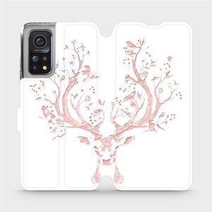 Flipové pouzdro Mobiwear na mobil Xiaomi MI 10T Pro - M007S Růžový jelínek