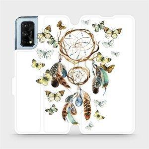 Flipové pouzdro Mobiwear na mobil Realme 7 Pro - M001P Lapač a motýlci