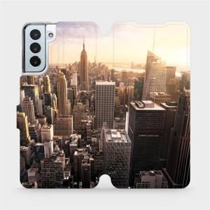 Flipové pouzdro Mobiwear na mobil Samsung Galaxy S21 Plus 5G - M138P New York