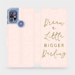 Flipové pouzdro Mobiwear na mobil Motorola Moto G30 - M014S Dream a little