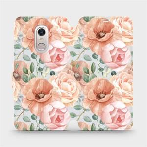 Flip pouzdro Mobiwear na mobil Xiaomi Redmi 5 Plus - MP02S Pastelové květy