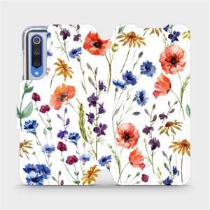 Flip pouzdro Mobiwear na mobil Xiaomi Mi 9 SE - MP04S Luční kvítí