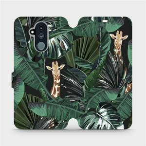 Flip pouzdro Mobiwear na mobil Huawei Mate 20 Lite - VP06P Žirafky
