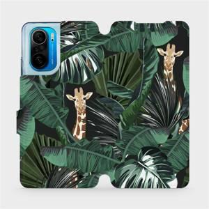 Flip pouzdro Mobiwear na mobil Xiaomi POCO F3 - VP06P Žirafky