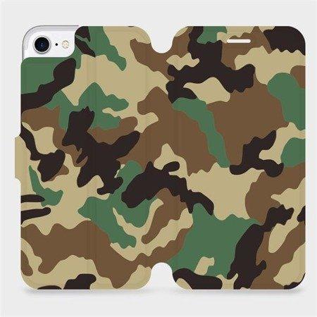 Flipové pouzdro Mobiwear na mobil Apple iPhone 8 - V111P Maskáče