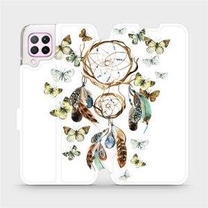 Flipové pouzdro Mobiwear na mobil Huawei P40 Lite - M001P Lapač a motýlci