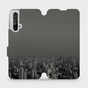 Flipové pouzdro Mobiwear na mobil Realme X3 SuperZoom - V063P Město v šedém hávu