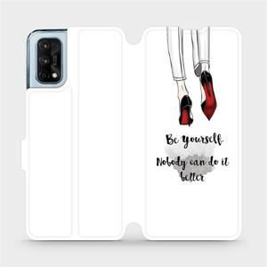 Flipové pouzdro Mobiwear na mobil Realme 7 Pro - M046P Be yourself