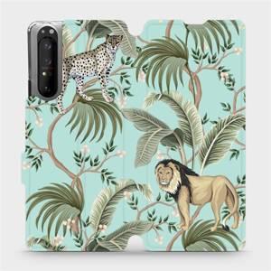 Flip pouzdro Mobiwear na mobil Sony Xperia 1 II - MP08S Dvě kočičky
