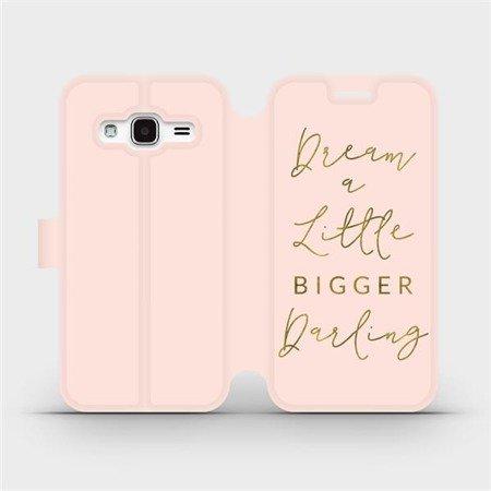 Flipové pouzdro Mobiwear na mobil Samsung Galaxy J3 2016 - M014S Dream a little