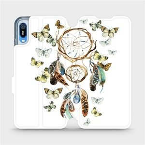 Flipové pouzdro Mobiwear na mobil Huawei Y6 2019 - M001P Lapač a motýlci