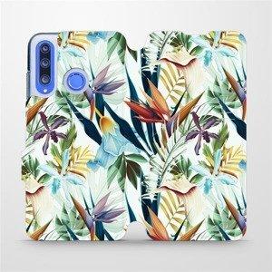 Flipové pouzdro Mobiwear na mobil Honor 20 Lite - M071P Flóra