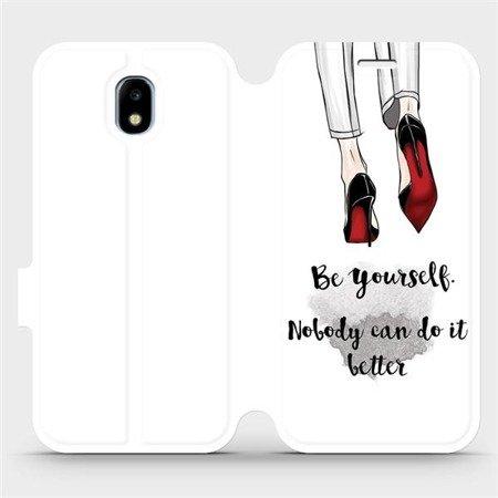 Flipové pouzdro Mobiwear na mobil Samsung Galaxy J3 2017 - M046P Be yourself