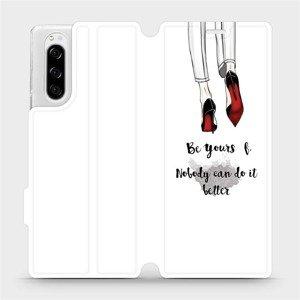 Flipové pouzdro Mobiwear na mobil Sony Xperia 5 - M046P Be yourself