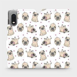 Flipové pouzdro Mobiwear na mobil Samsung Xcover PRO - M097P Mopsíci