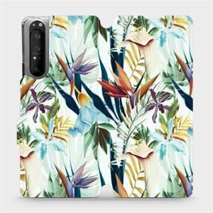 Flipové pouzdro Mobiwear na mobil Sony Xperia 1 II - M071P Flóra