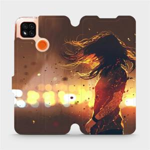 Flipové pouzdro Mobiwear na mobil Xiaomi Redmi 9C - MA02S Tetovaná dívka