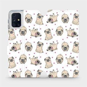 Flipové pouzdro Mobiwear na mobil Samsung Galaxy M31s - M097P Mopsíci