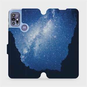 Flipové pouzdro Mobiwear na mobil Motorola Moto G30 - M146P Galaxie