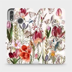 Flip pouzdro Mobiwear na mobil Honor 8X - MP01S Rozkvetlá louka