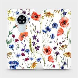Flip pouzdro Mobiwear na mobil Nokia 6.2 - MP04S Luční kvítí