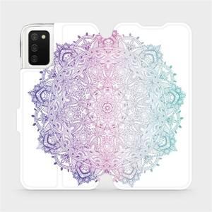 Flip pouzdro Mobiwear na mobil Samsung Galaxy A03s - M008S Mandala