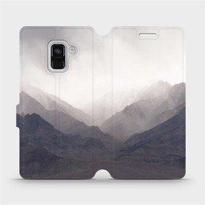 Flipové pouzdro Mobiwear na mobil Samsung Galaxy A8 2018 - M151P Hory