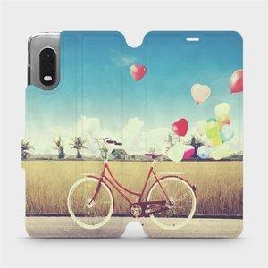 Flipové pouzdro Mobiwear na mobil Samsung Xcover PRO - M133P Kolo a balónky