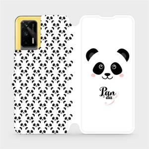 Flipové pouzdro Mobiwear na mobil Realme GT 5G - M030P Panda Amálka