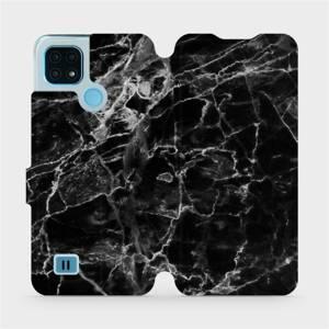 Flip pouzdro Mobiwear na mobil Realme C21 - V056P Černý mramor