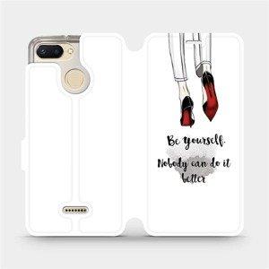 Flipové pouzdro Mobiwear na mobil Xiaomi Redmi 6 - M046P Be yourself