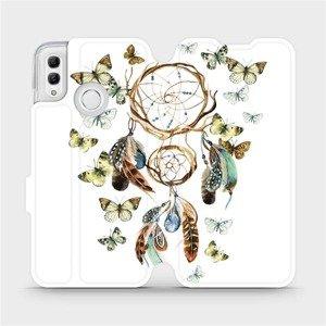 Flipové pouzdro Mobiwear na mobil Honor 10 Lite - M001P Lapač a motýlci